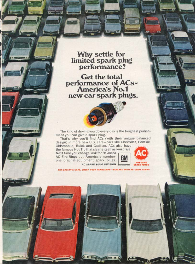 Image for Why settle limited performance AC ad w/ Corvette 1967