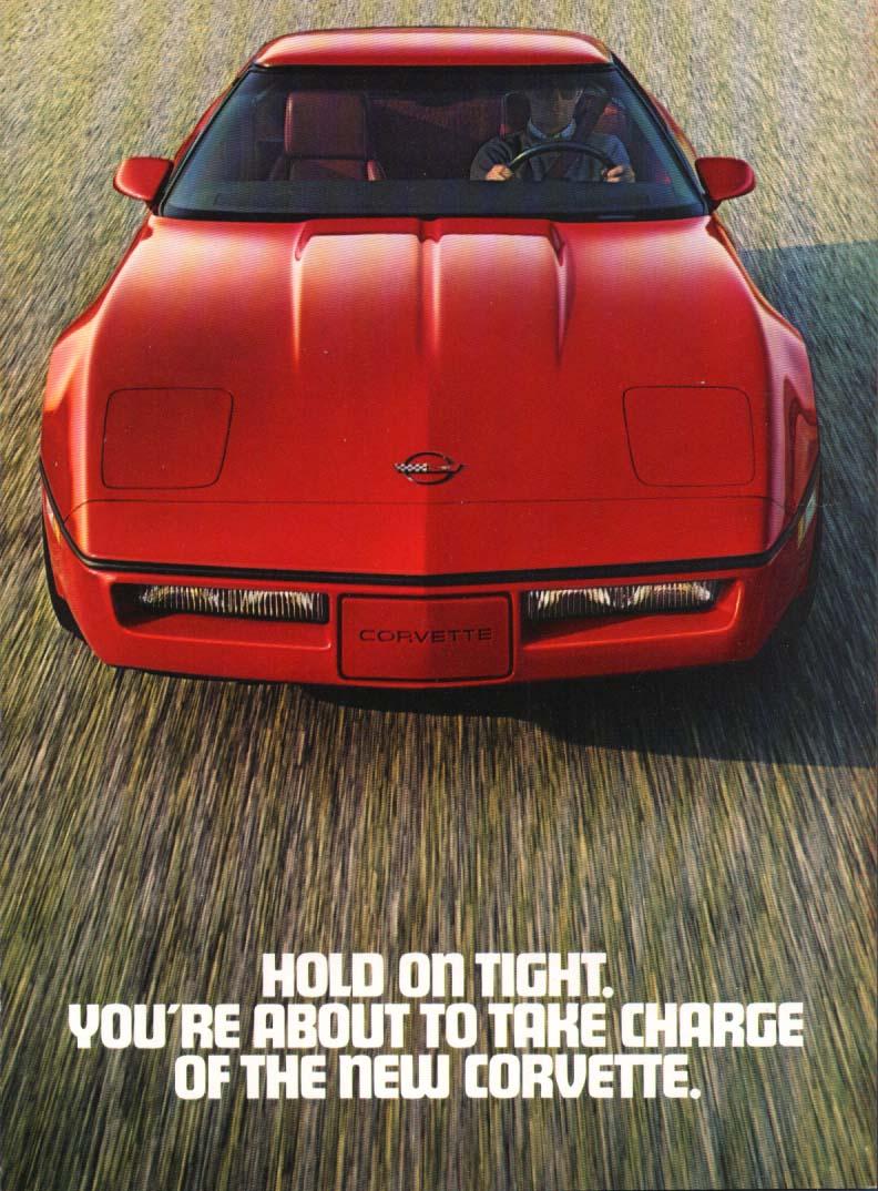 Corvette ad 1983 4-panel