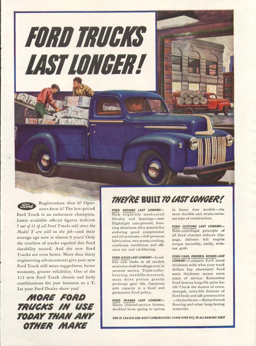 Ford pickup truck built to