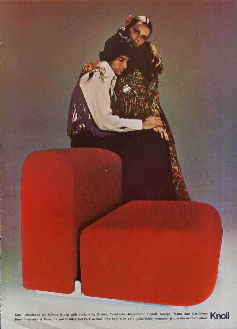 Image for Gavina Group Breuer Magistretti Matta + Knoll ad 1969