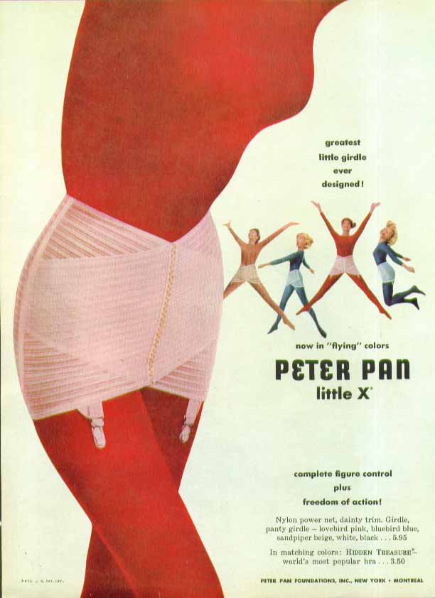 Image for Greatest little Girdle Ever Designed! Peter Pan Little X ad 1957