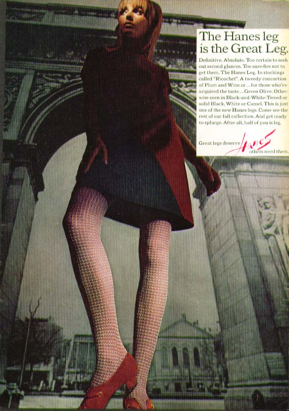Great Pantyhose Magazine Ad 4