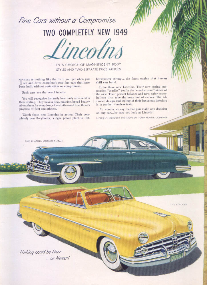Image for Lincoln without Compromise Cosmopolitan ad 1949