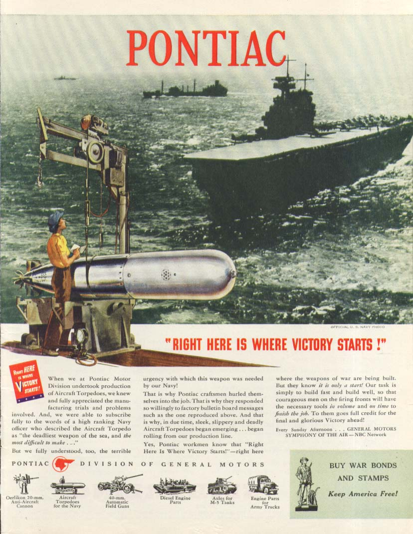 Image for Clarence L Tinker 85' Patrol Boat Dooley's ad 1944