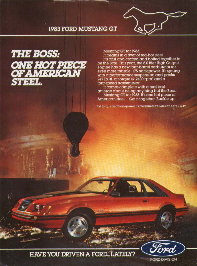 Image for The Boss One Hot Piece of American Steel Mustang 1983