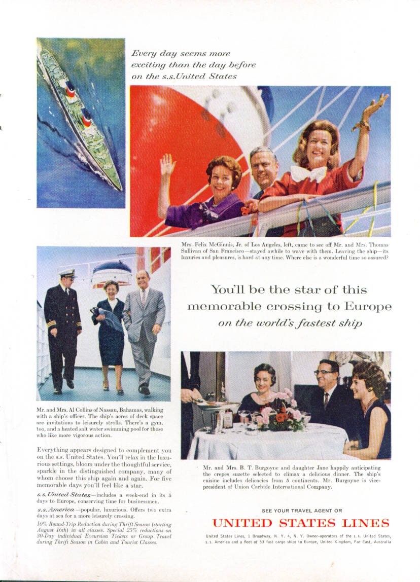 Image for You'll be the star S S United States ad 1962