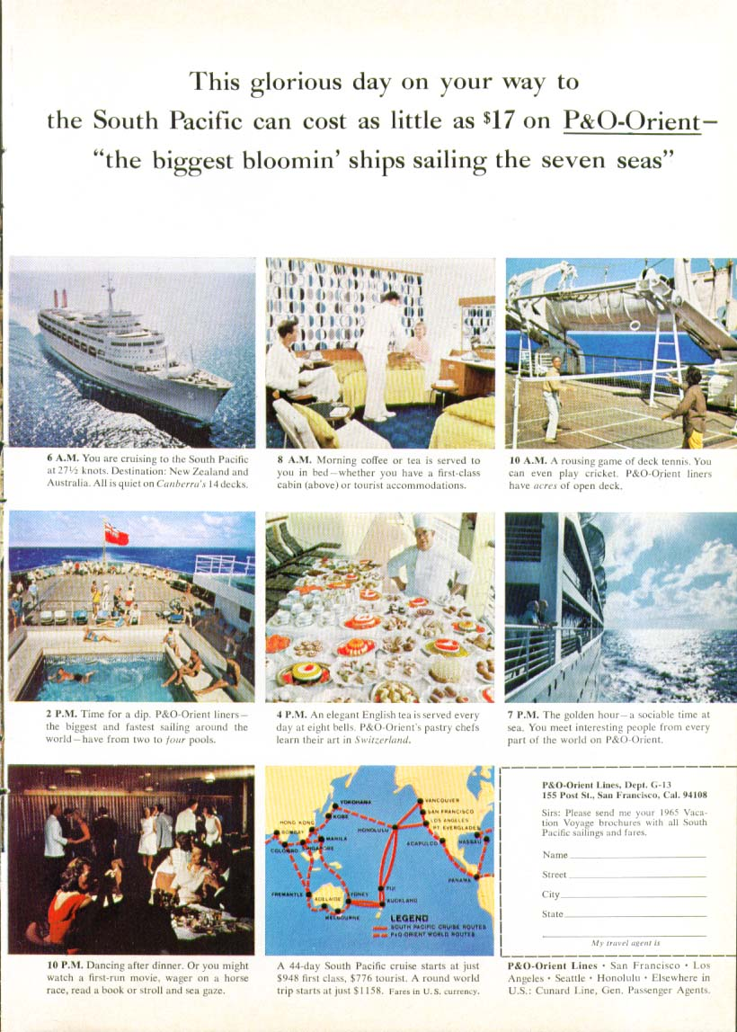 Image for This glorious day P&O-Orient S S Canberra ad 1965
