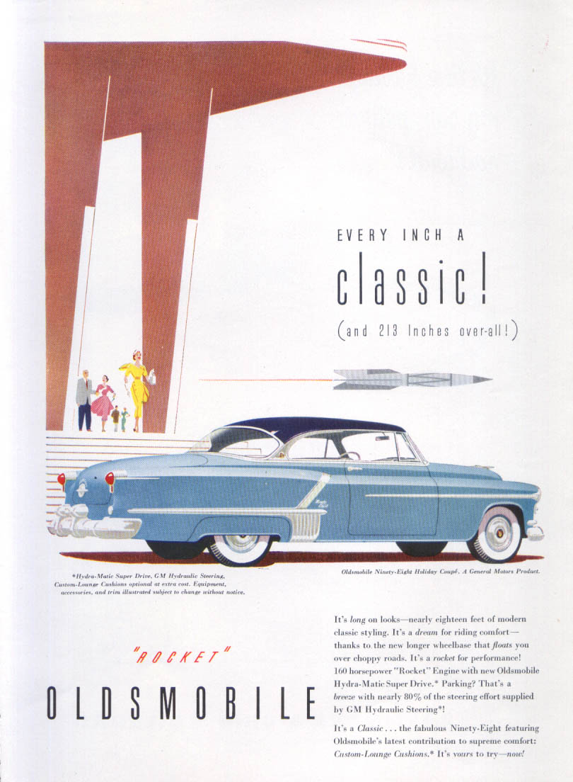 Image for Every inch a classic Oldsmobile 98 ad 1952