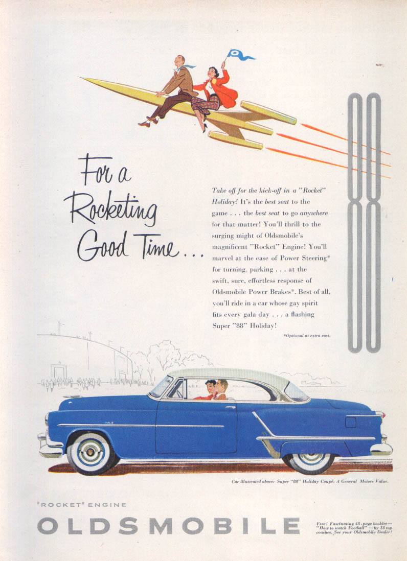 Image for For a Rocketing Good Time Oldsmobile Super 88 ad 1953