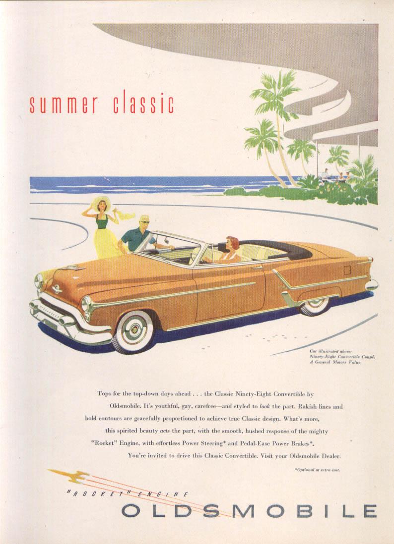 Image for Summer Classic Rocket Engine Oldsmobile 98 ad 1953