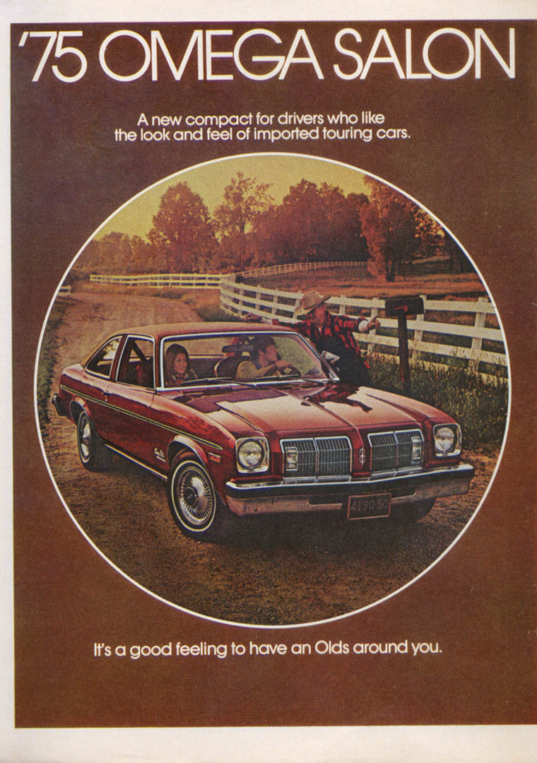 Ads oldsmobile for 1975 oldsmobile omega salon