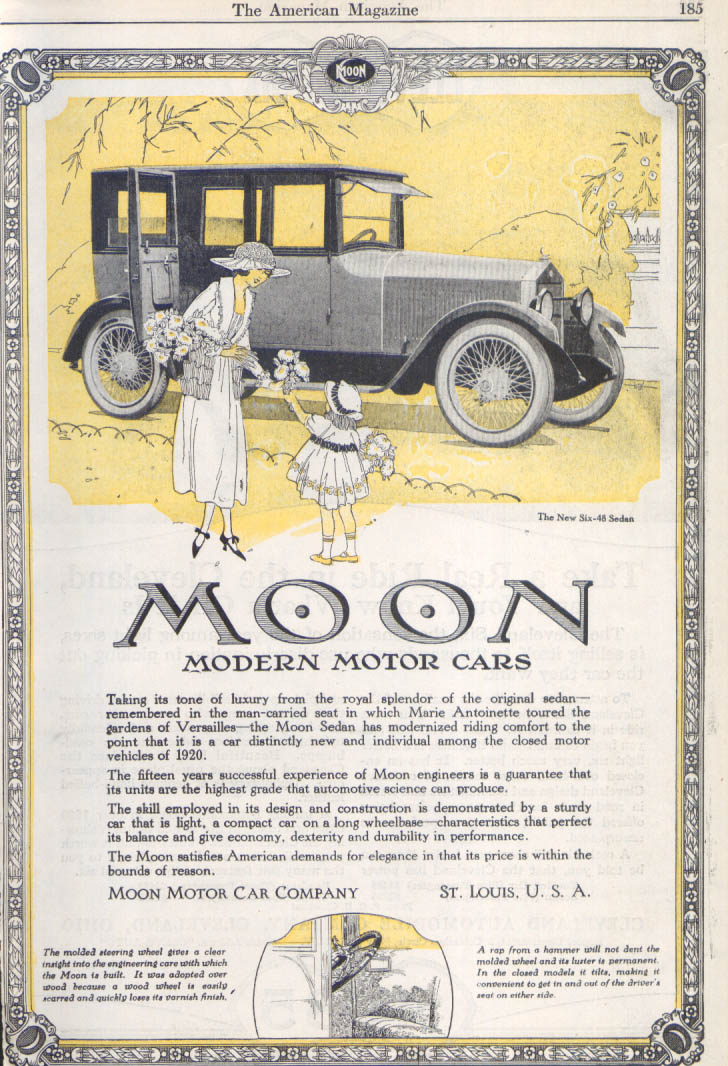 Image for Taking its tone of luxury Moon Six-48 auto ad