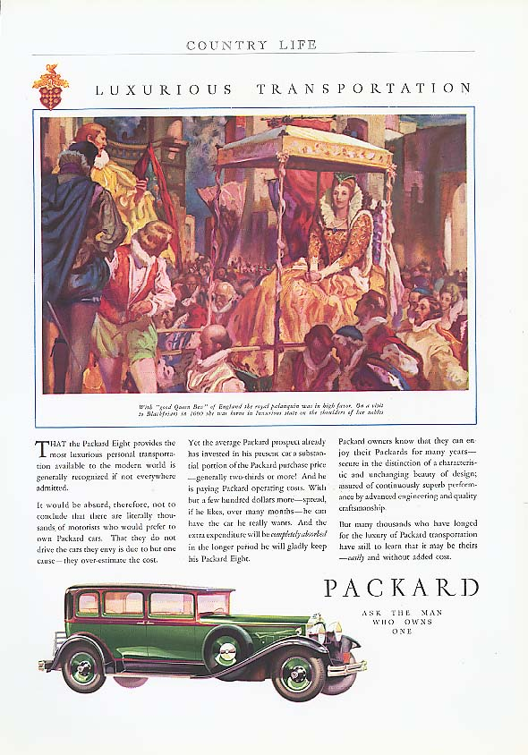 Image for That Packard provides - 4-dr Sedan ad 1930
