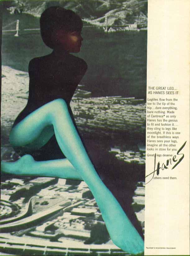 Great Pantyhose Magazine Ad 46