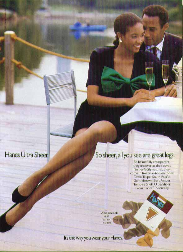 Great Pantyhose Magazine Ad 62