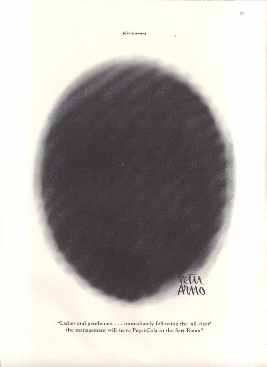 Image for Pepsi Peter Arno Sert Room ad 1942