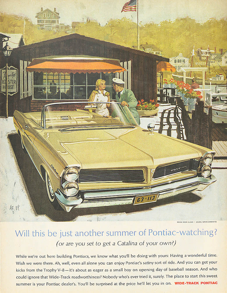 Will this be just another summer? Pontiac ad 1963