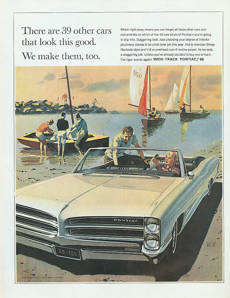 Image for There are 39 other cars this good Pontiac ad 1966