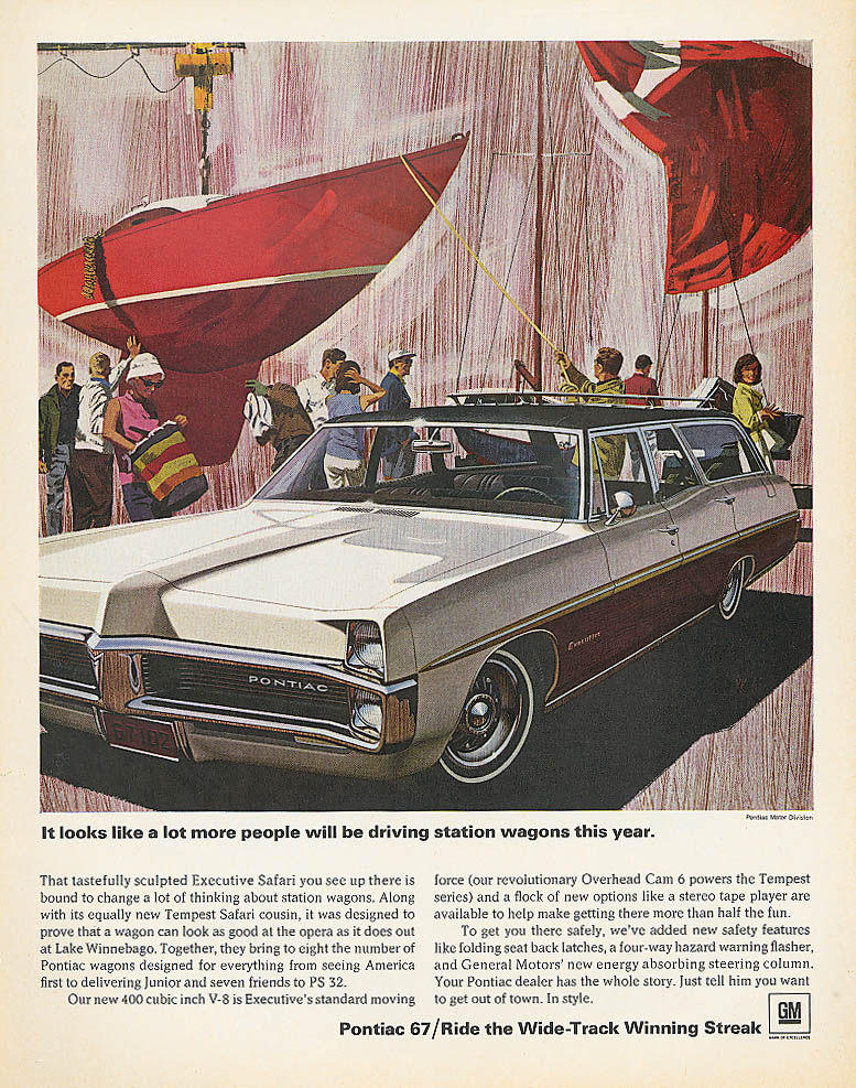 A lot more people will be driving Pontiac ad 1967