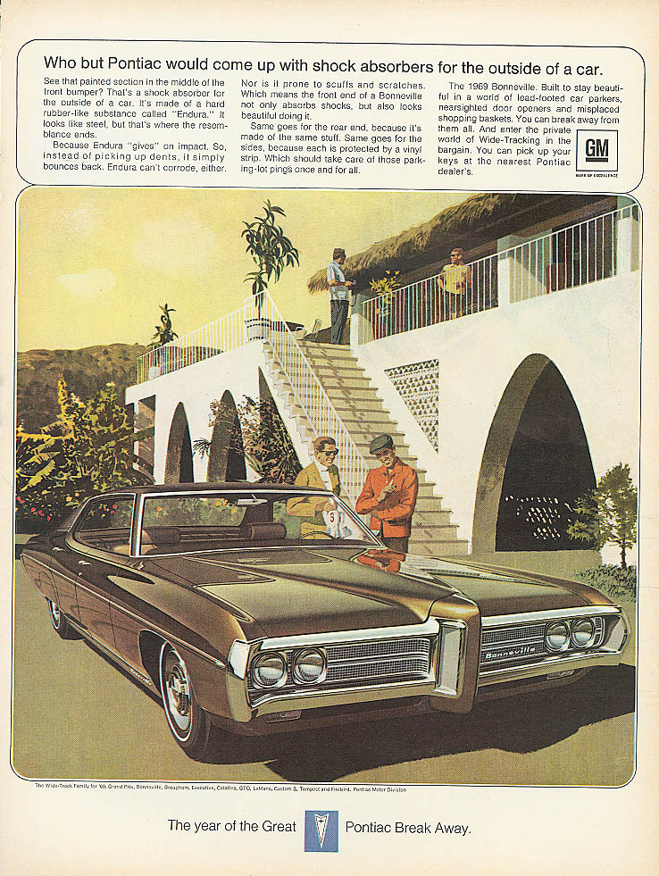 Who but Pontiac would come up with . . . Ad 1969
