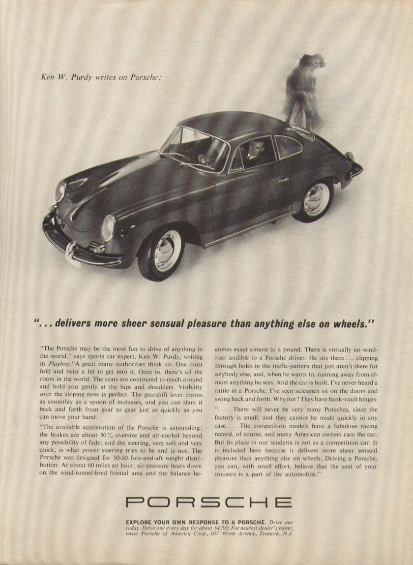 Image for Porsche delivers more sheer sensual pleasure ad 1963