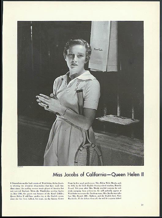 Tennis Champion Helen Jacobs by Edward Steichen for Vanity Fair 1935