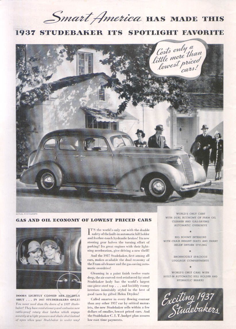 Image for Smart America has made 1937 Studebaker its favorite ad