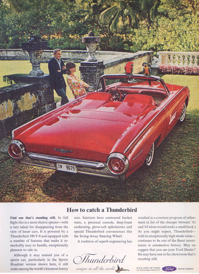 Image for How to catch a Thunderbird ad 1963