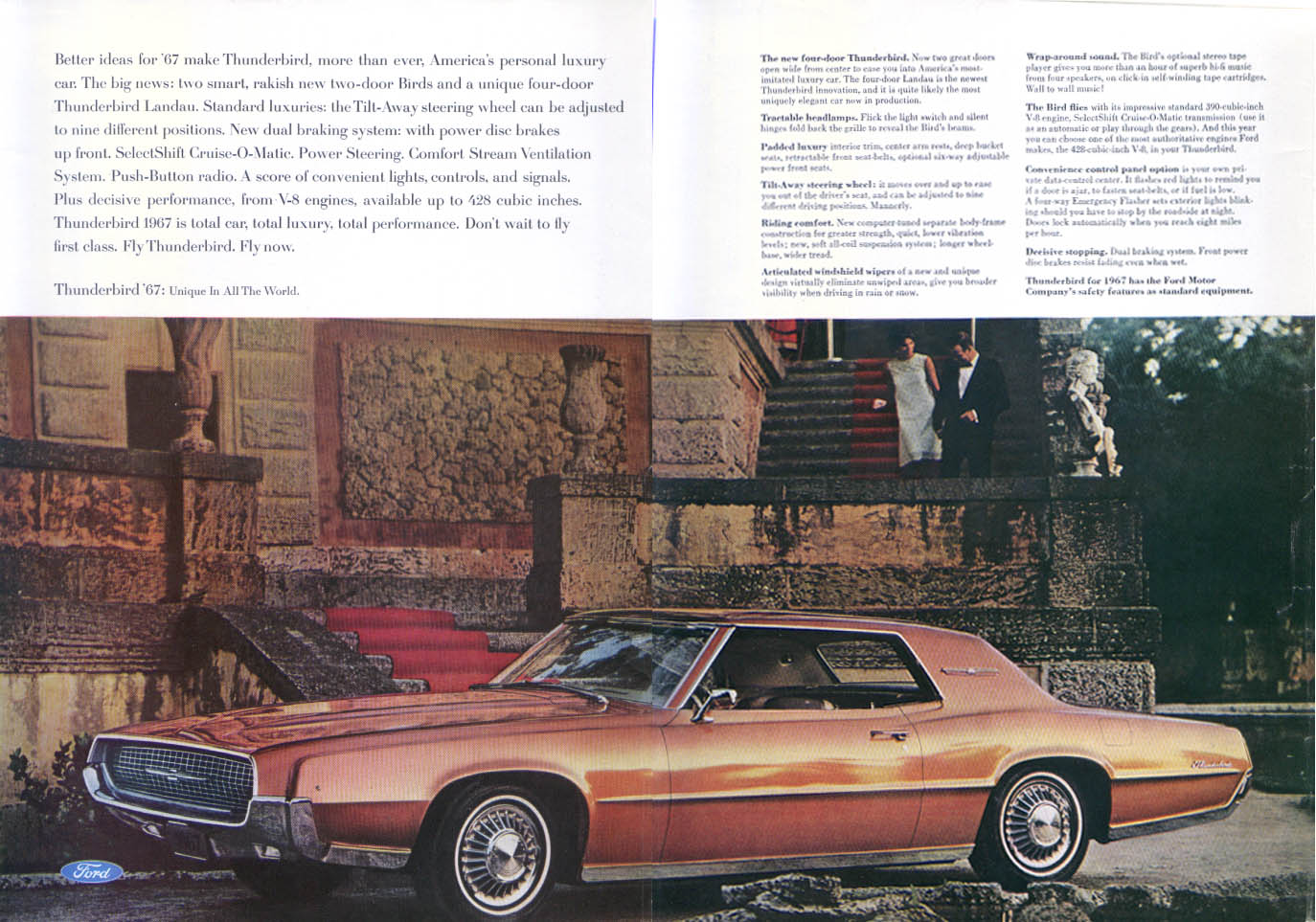 Image for Ford Thunderbird Fly Now ad 1967
