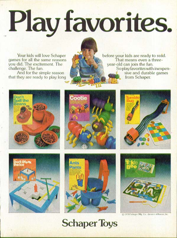 Mo power to the little people Ideal Mighty Mo ad 1978