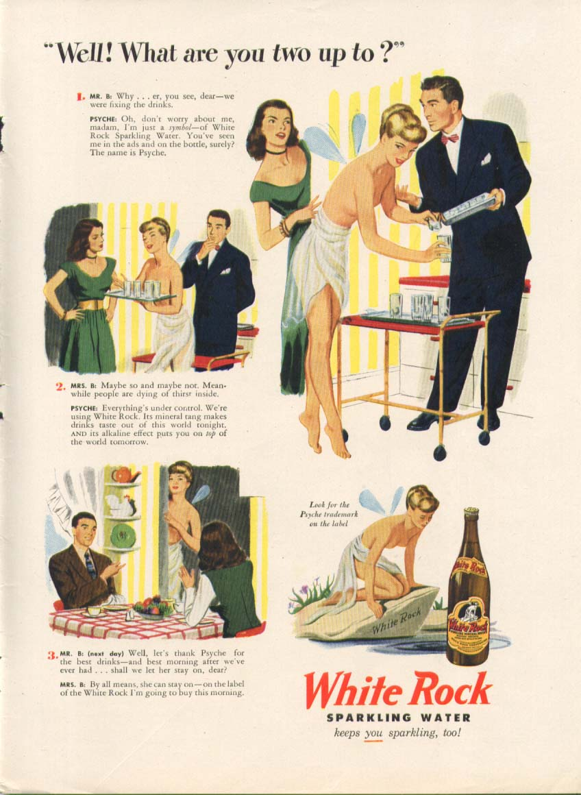 Image for Well! What are you two up to? White Rock ad 1947