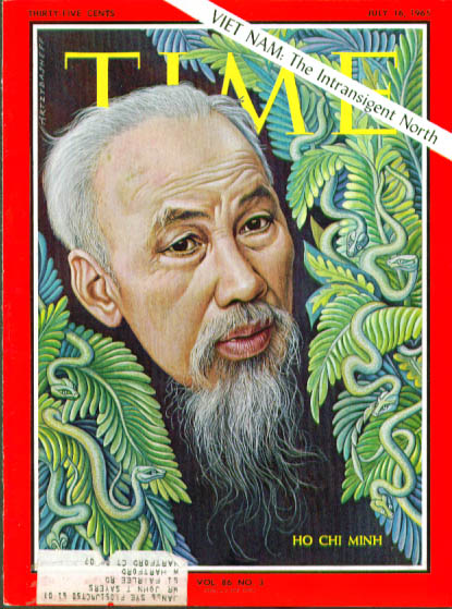 Artzybasheff cover Ho Chi Minh Time 7/16 1965