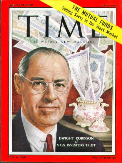 Artzybasheff cover Dwight Robinson Time 6/1 1959