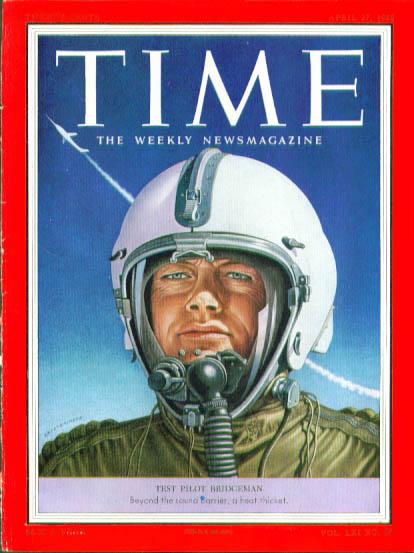 Artzybasheff cover Test Pilot Bridgeman Time 4/27 1953