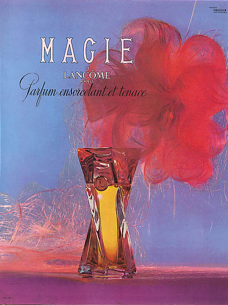 Image for Magie de Lancome French perfume ad 1953