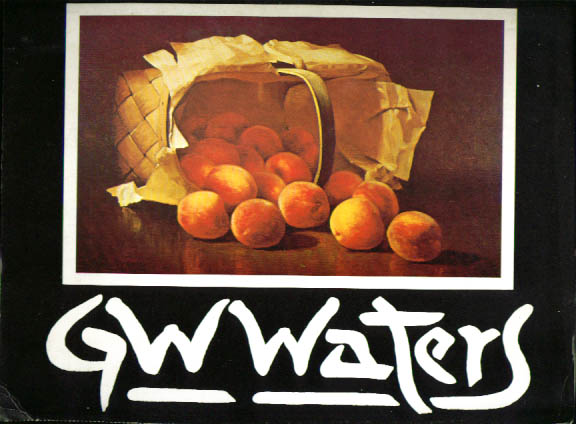 Image for G W Waters exhibition catalog 1970s