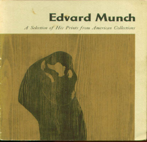 Image for Munch Prints American Collections MOMA catalog 1957
