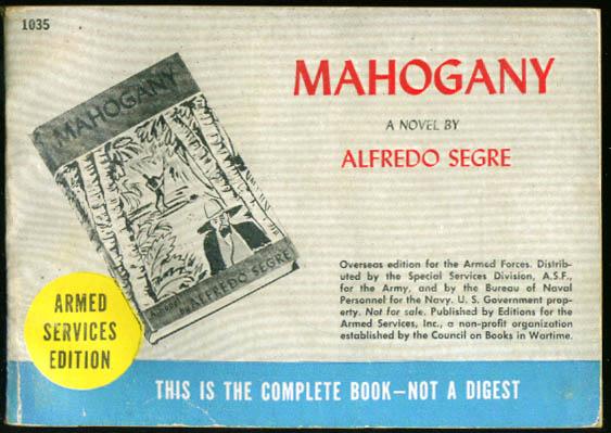 Image for ASE 1035 Alfredo Segre: Mahogany