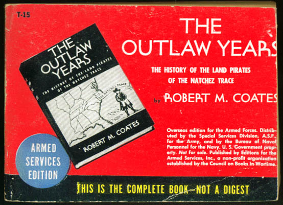 Image for ASE T-15 Robert M Coates: The Outlaw Years