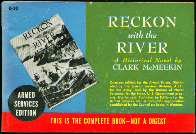 Image for ASE Q-30 Clark McMeekin: Reckon with the River