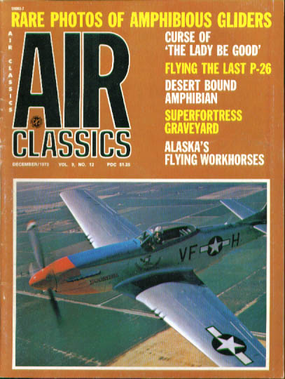 AIR CLASSICS Kawasaki Swallow XJL-1 Amphib Superfortress P-26 ++ 12 1973