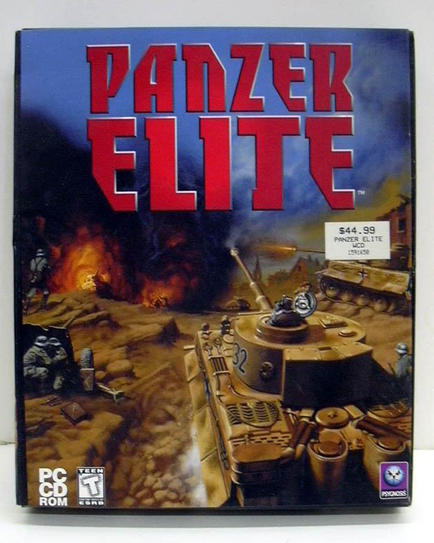 Panzer Elite Psygnosis Windows PC CD-ROM game 1999 NEW - SEALED
