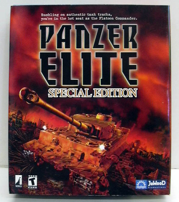 Panzer Elite Special Edition JoWooD Windows PC CD-ROM game 2001 NEW - SEALED
