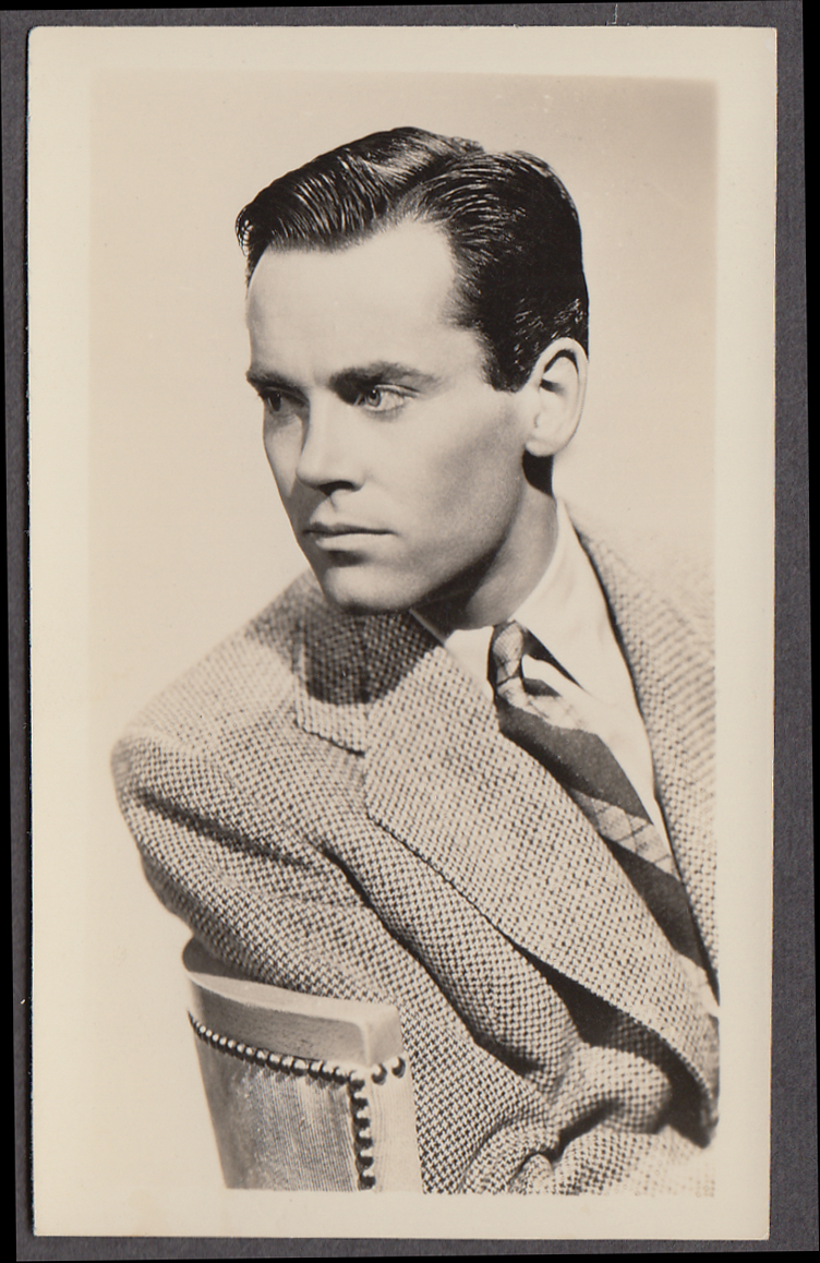 Actor Henry Fonda fan club photo 1940s
