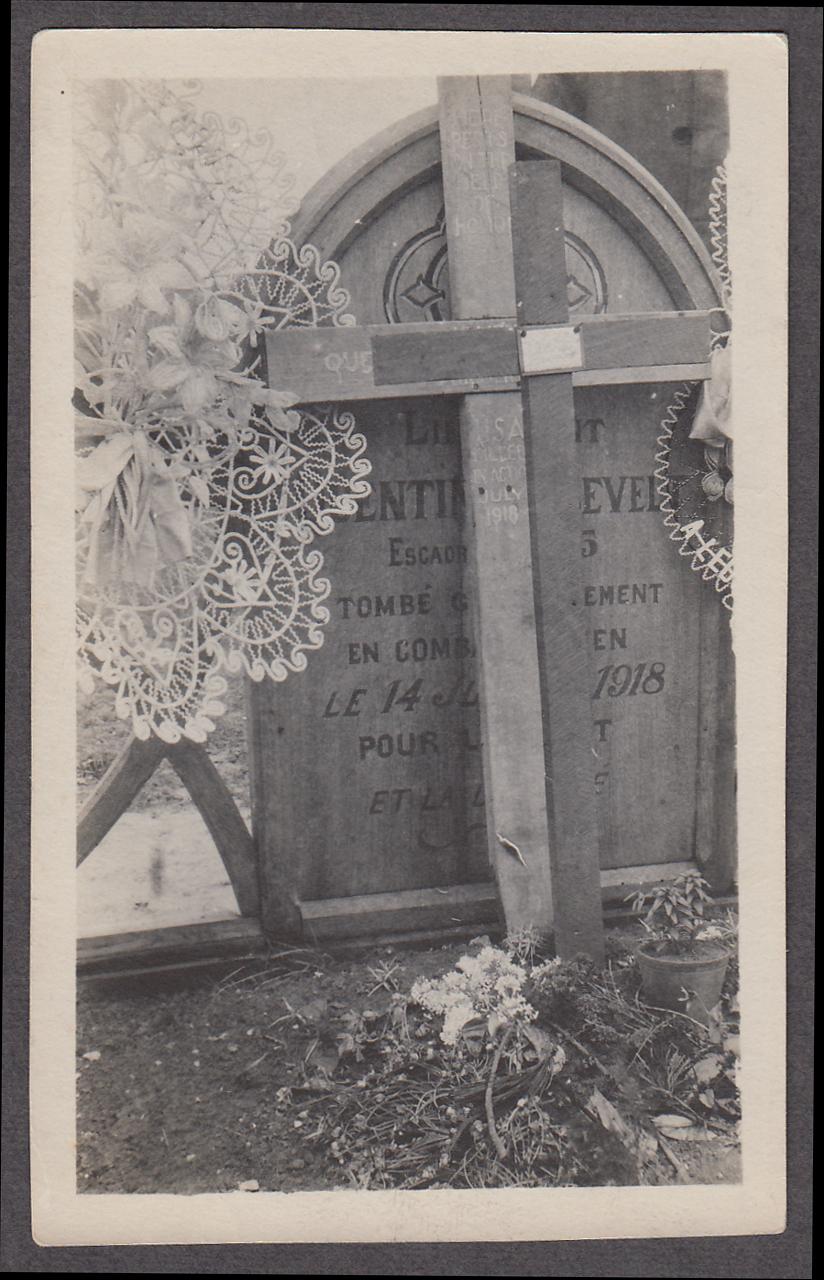 Quentin Roosevelt grave Coulonges-en-Tardenois France 1918 1919