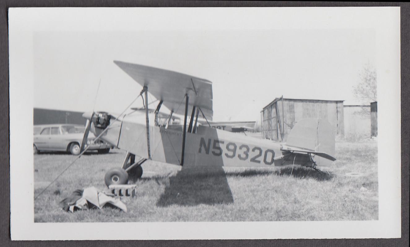 1940s Pietenpol PH-1 Air Camper Experimental airplane photo N59320 1960s
