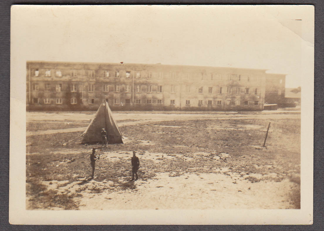Image for 35th Infantry Barracks & tent Schofield Hawaiian Islands snapshot ca 1915