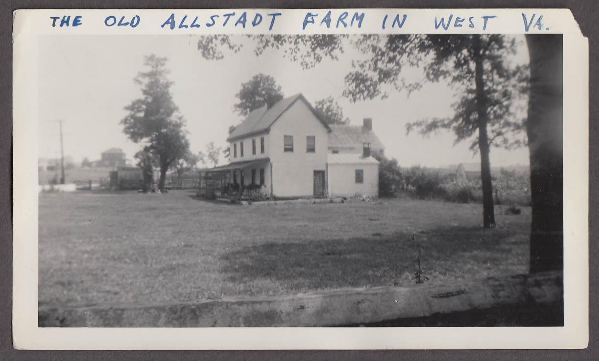 Image for Old Allstadt Farm the Elders Harpers Ferry WV snapshot ca 1940s #2