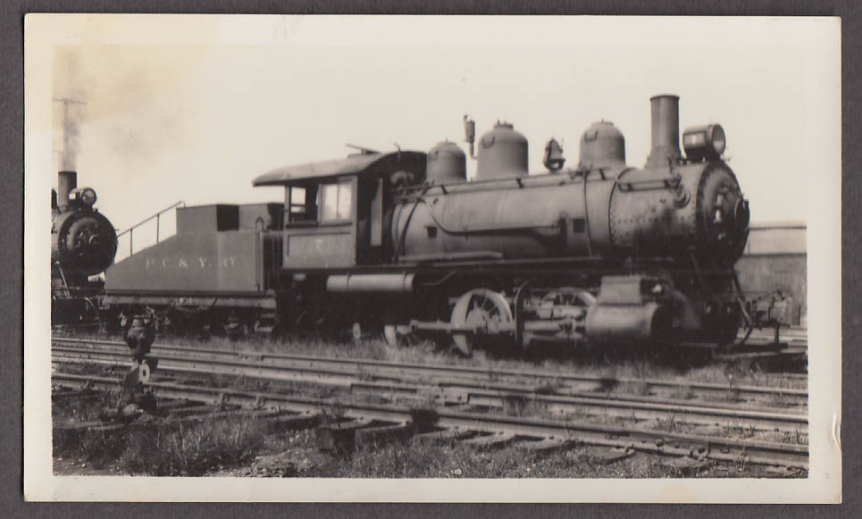 Image for Pittsburgh, Chartiers & Youghiogheny Railroad 0-6-0 #7 locomotive photo