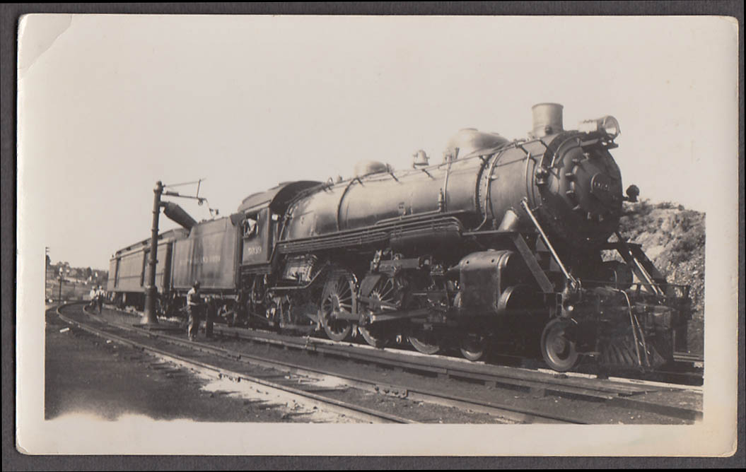 Baltimore & Ohio Railroad 4-6-2 #5039 locomotive photo watering tender